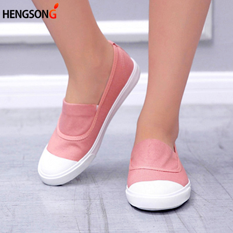 2017 summer new canvas student flat comfortable white shoes women basic casual shoes slip-on canvas walking shoes female O911255 women casual flat shoes 2016 summer new breathable shoes comfortable flat shoes student