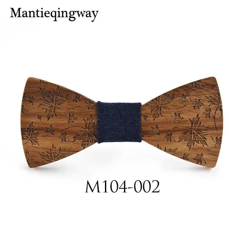 Mantieqingway для взрослых ручная работа деревянная бабочка мужские костюмы