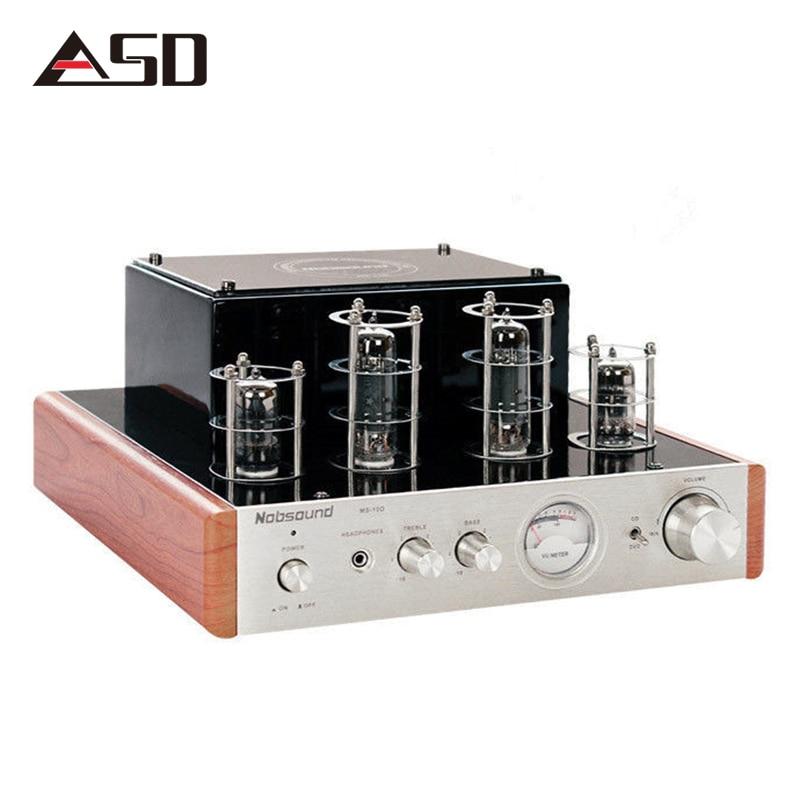ASD Nobsound MS-10D Hifi 2,0 вакуумные ламповый усилитель USB/Home Audio Мощность усилитель 25 Вт * 2 220 В стерео наушники Amplificador