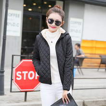 купить Hooded Zipper Fleece Women Winter parka Jacket 2017 New Arrival Casual Warm Long Sleeve Plus Size Ladies Cotton-Padded Outerwear по цене 1738.35 рублей