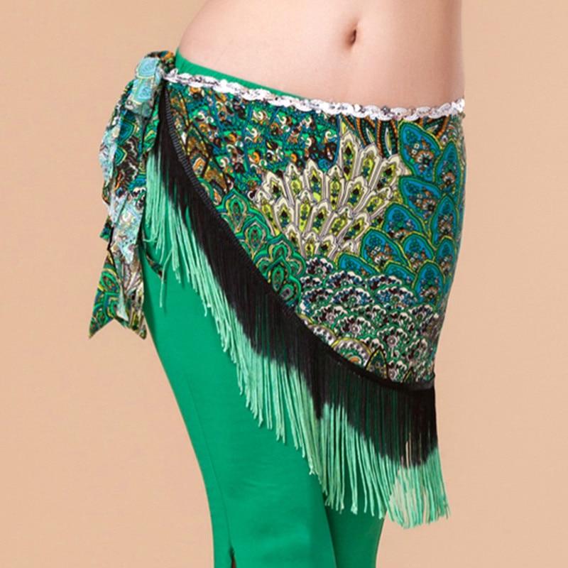 ⓪2016 Nueva danza del vientre Accesorios desgaste bailando bufanda ...