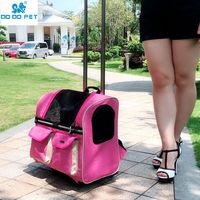 Small Cat Dog Travel Bag Pet Carrier Portable Pet Carrier Purse Breathable Puppy Dog Trolley Case Pitbull Pet Supplies