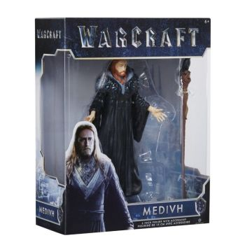 WOW Action Figure Medivh Mage Anime Figure Collectible Model Toy  Figurine Toy Doll Robot Figure Kit Block