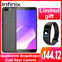 Global Version Infinix HOT 6 PRO SmartPhone 32G 3G Dual Rear Camera Qualcomm Snapdragon 6.0 Screen cell phone Android 8.0