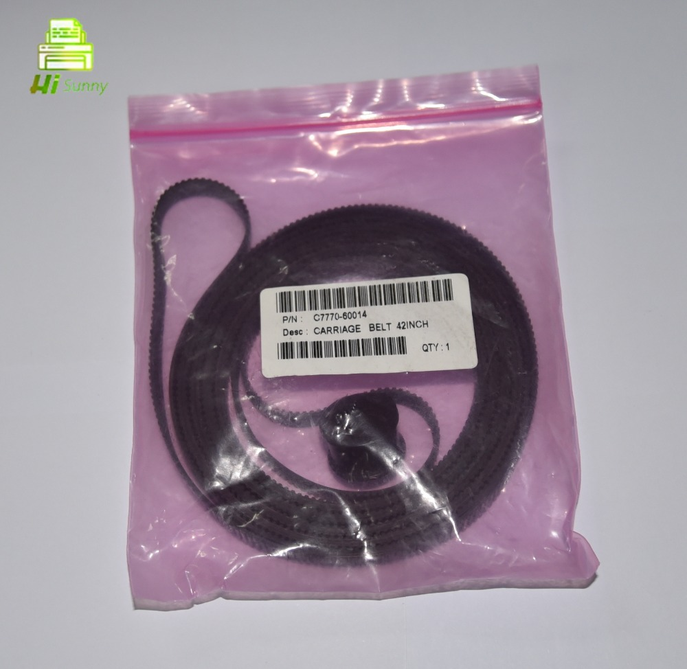 C7770-60014 para HP 500 800 cinto de transporte de 42 polegadas