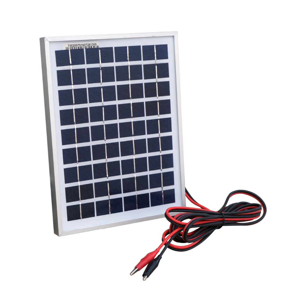 цена на 10W 12V polycrystalline solar panel system photovoltaic solar panel For small home lighting system, For RV , For cabin, For tele