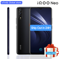 vivo iQOO Neo Mobile Phone celular 8GB 128GB 6.38 Snapdragon 845 Octa Core 3 Cameras 4500mAh Smartphone 22.5W Flahsing Charge