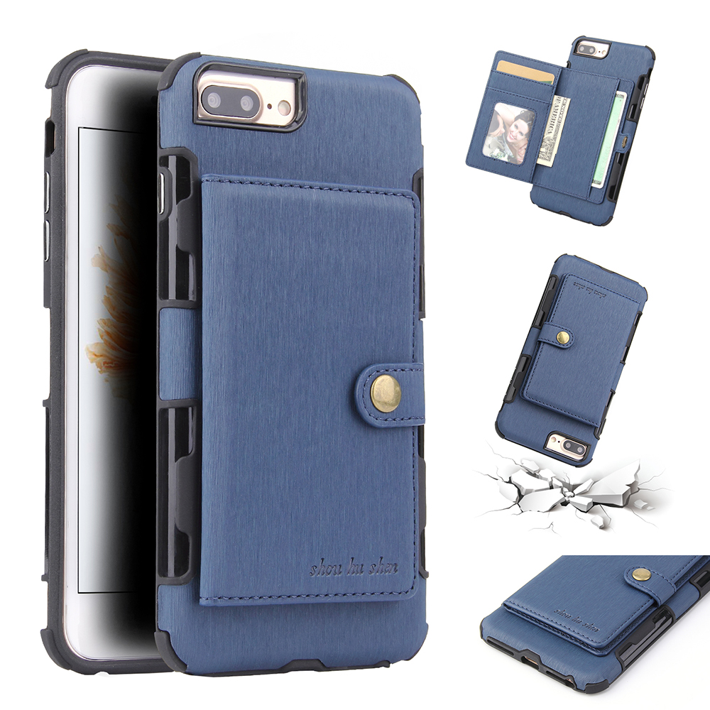 Wallet Case Mobile Phone Accessories Back Cover For iPhone