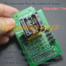 IC TEST 208mil SOP8/HEAD-SEEP-SOP8 adapter for GANG-08 Programmer freeshipping ao4478l 4478 sop8