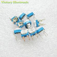 Новый 20 шт./лот Триммер Потенциометр RM065 RM-065 2kohm 202 2 К триммер Резисторы переменные регулируемые Резисторы оптовая продажа