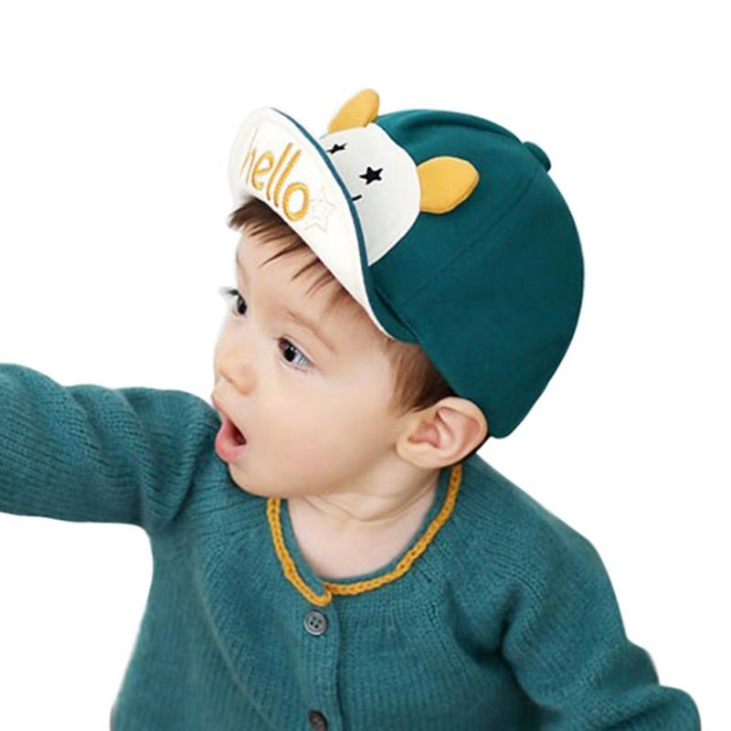 Moda Bebé Sombrero Dibujos animados Animal Niños Gorra de béisbol - Ropa de bebé