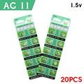 Hot Barato 20 PCS ++ ++ Alta Potência Bateria de Relógio Celular Baterias 1.55 V Botão de Célula tipo Moeda Baterias AG11 LR47 SR721SW LR721 V362