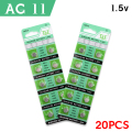 Hot Cheap 20PCS ++High Power++Cell Batteries 1.55V Button Coin Cell Watch Battery Batteries AG11 LR47 SR721SW LR721 V362