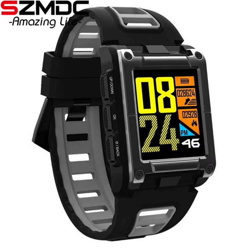 SZMDC S929 GPS Sport IP68 Waterproof Swimming Smart Watch Heart Rate Monitor Thermometer Altimeter Color Screen Smartwatch