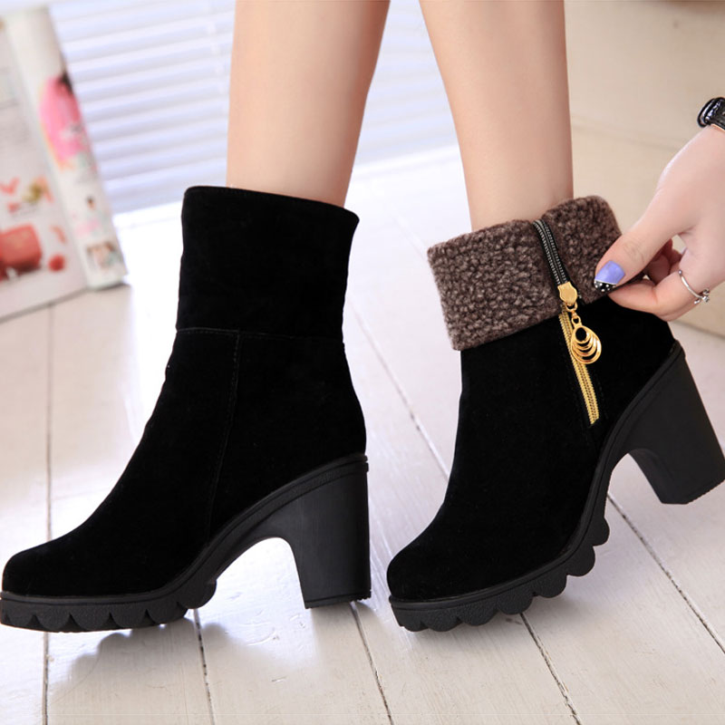 Aliexpress.com : Buy Fashion Female ankle boots 2015 new autumn ...