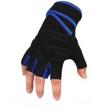 1Pair Fitness Weight Lifting Gloves Gym Training Gloves Bar Grip