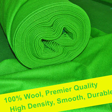 Weichster Tournament Quality High Density Smooth Durable Woolen Snooker Table Cloth