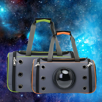 ERPPET Pet Dog Space Capsule Handbag Puppy Cat Outdoor Travel Shopping Carrier Crate Fashion Breathable Comfortable Pet Bags 1
