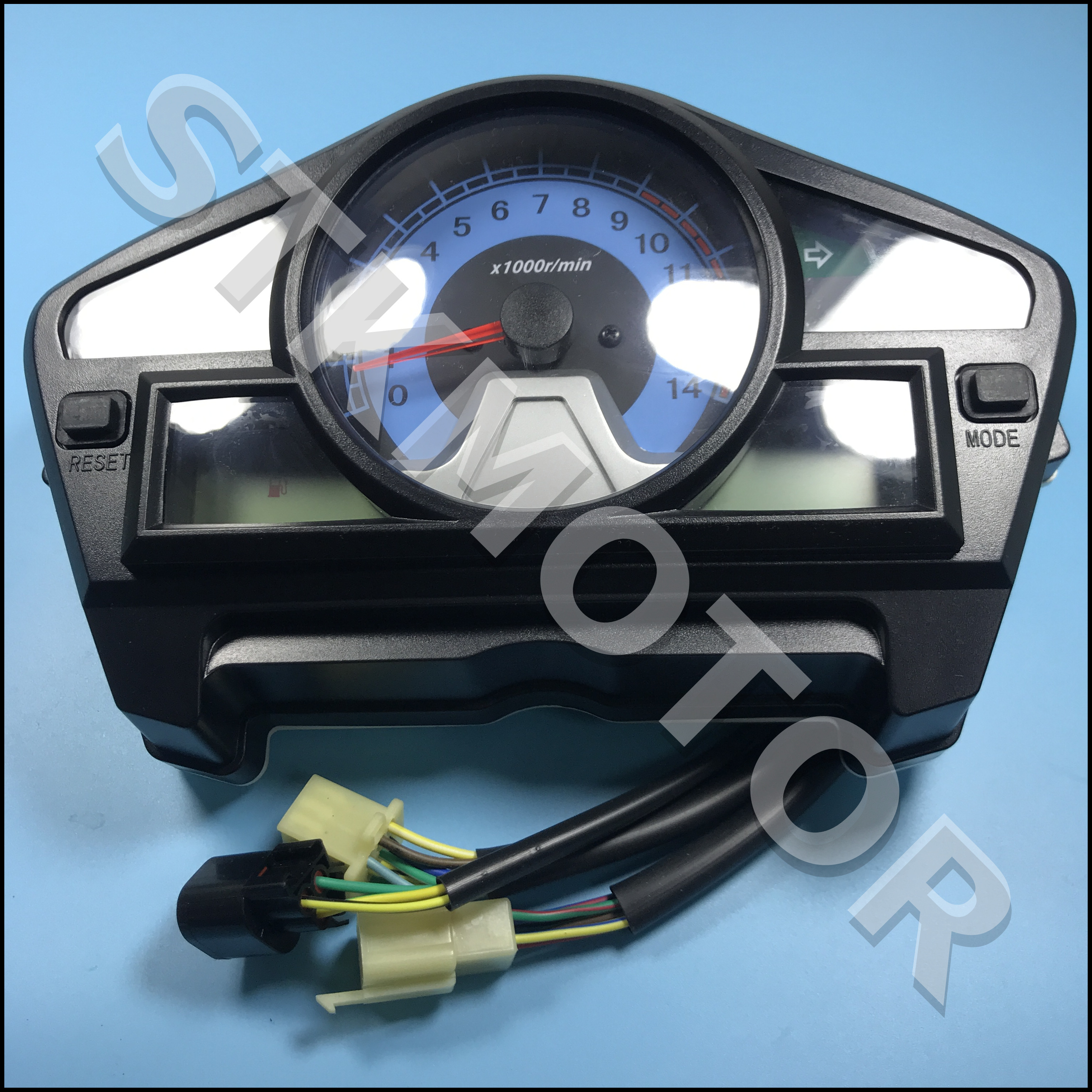 Dayun Motorcycle Parts Motorcycle Digital LED Speedometer Assy