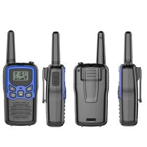 Image 4 - 2 pz/lotto GoodTalkie T5 Palmare Wookie Talkie viaggi zaino in spalla walkie talkie 5km Portatile A Due Vie Radio