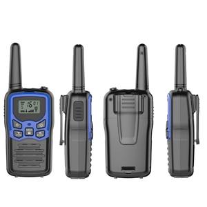 Image 4 - 2pcs/lot GoodTalkie T5 Handheld Wookie Talkie travel backpacker walkie talkie 5km Portable Two Way Radio