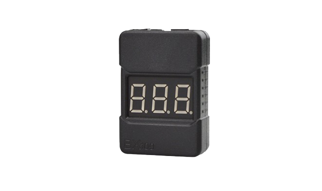 BX100 1 8S Lipo Battery Voltage Tester Low Voltage Buzzer Alarm Checker with Dual Speakers F18255