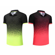Men Women Sports Quick Dry Breathable Table Tennis T-Shirt Team Running Fitness Training Polo T Shirts Badminton Bowling Shirts(China)