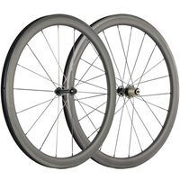 High Performance Carbon Wheelset 40mm Road Full Carbon Fiber Bicycle Wheels Clincher 700C Carbon Wheels Cycle Bike Wheel