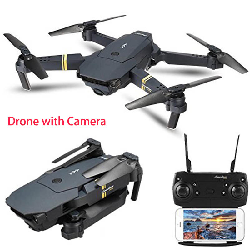E58 Drone X Pro Foldable 2.4ghz Quadcopter Wifi 1080p Camera 4 Pcs Batteries Low Price Toys & Hobbies Other Rc Model Vehicles & Kits