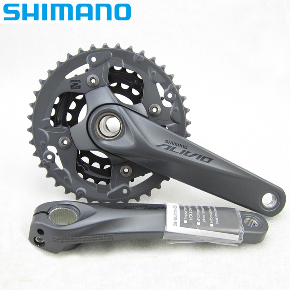 Shimano Alivio Crank Crankset FC-M4050 w or w//o BB52 for M4000 HollowTech