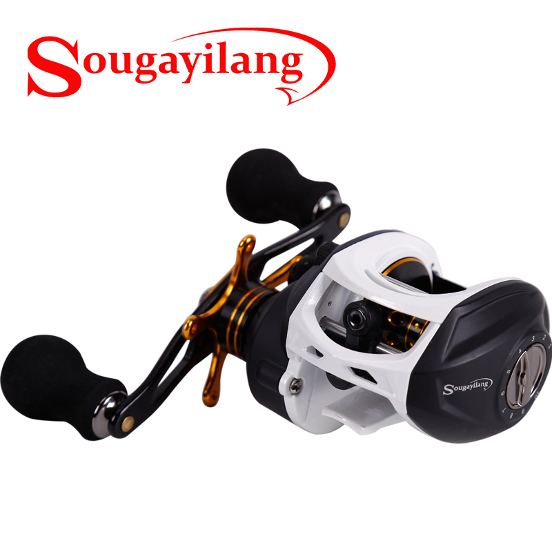 Sougayilang 9+1 Ball Bearing Bait Casting Fsihing Reel Gear Ratio 7:1 High Speed Baitcasting Fishing Reel Magnetic Brake System nunatak original 2017 baitcasting fishing reel t3 mx 1016sh 5 0kg 6 1bb 7 1 1 right hand casting fishing reels saltwater wheel