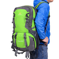 40L Outdoor Climbing Bag Professional Waterproof Backpack Comfortable Mountain Hiking Sport Bags Travel Men Women Rucksack