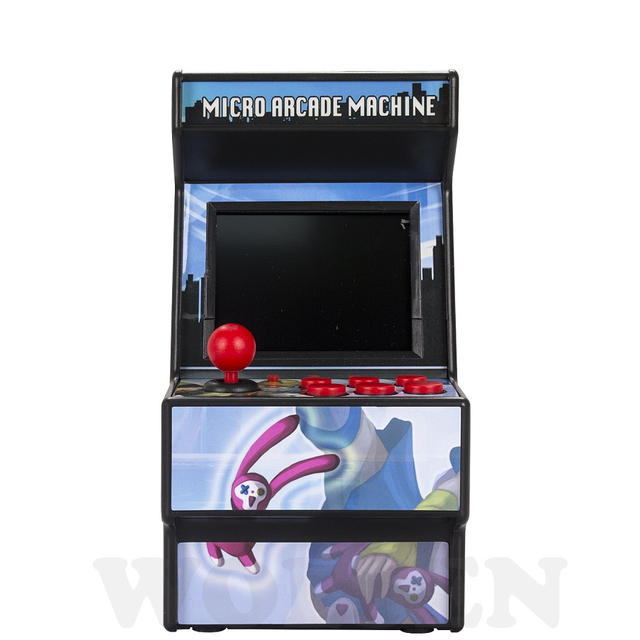 New 16 bit arcade video game console support AV out built in 156 games for sega