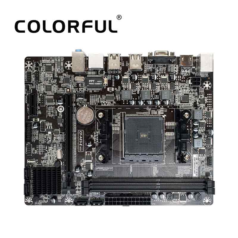 Colorful C A68M E Plus V15 Motherboard For AMD A68H FM2 FM2 Socket PC Gaming DDR3