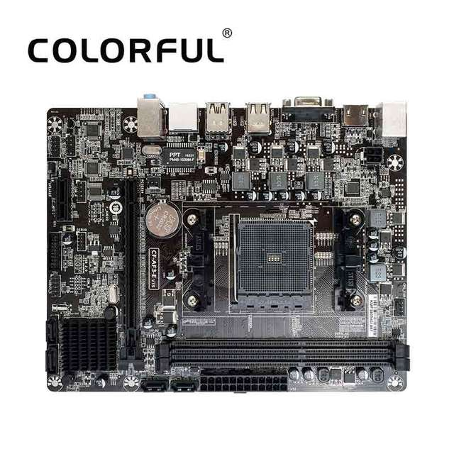 Colorful C.A68M E Plus V15 Motherboard For AMD A68H FM2