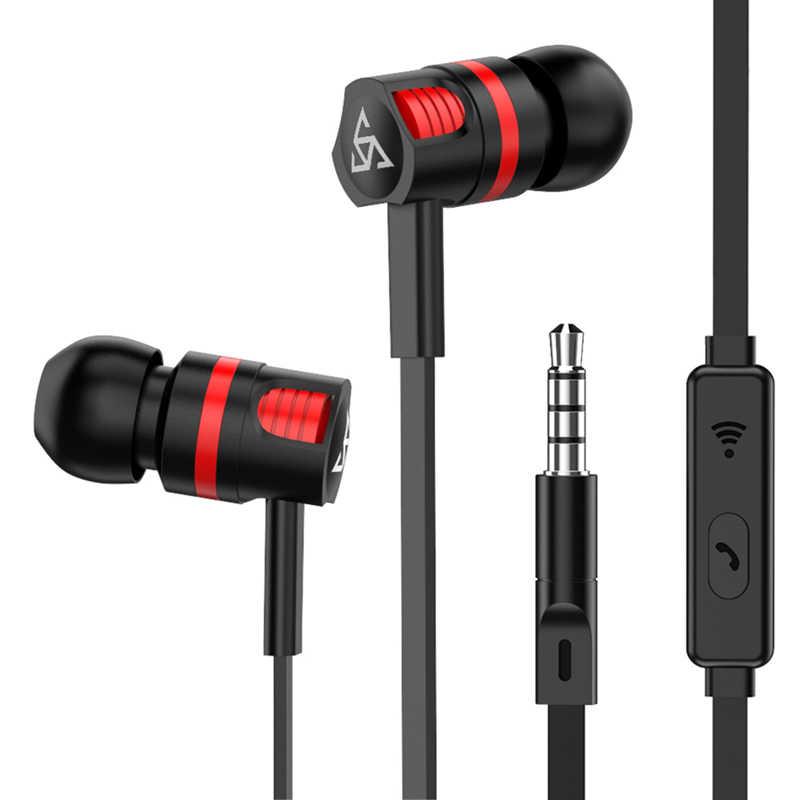 سماعة أذن عالمية موديل JM26 سماعة أذن أصلية ذات جودة عالية احترافية مزودة بميكروفون لهاتف iPhone المحمول