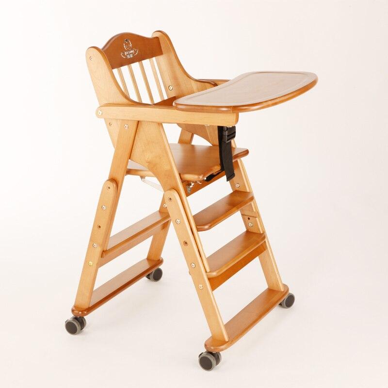 Kinderstoel Aan Tafel.0 4 Jaar Hoge Kwaliteit Massief Houten Baby Foding Stoelen