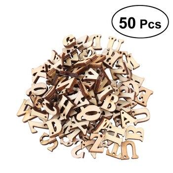 Heißer Verkäufer Unfinished Holz Großbuchstaben Alphabet Holz ...