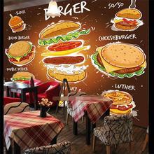 Пользовательские обои супер Бургер Кинг фон настенная живопись