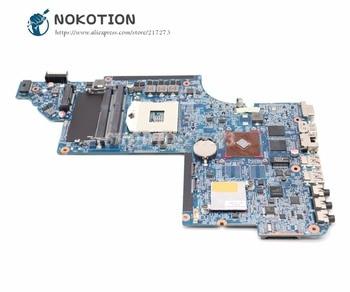 NOKOTION 641487-001 Laptop Motherboard For HP Pavilion DV6 DV6-6000 MAIN BOARD HM65 DDR3 HD6490M Video card