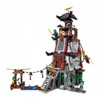 Lepin 06037 Compatible Ninja Ninjagoed The Lighthouse Siege Marvel Ninja Building Blocks Model Kits Toys Compatible