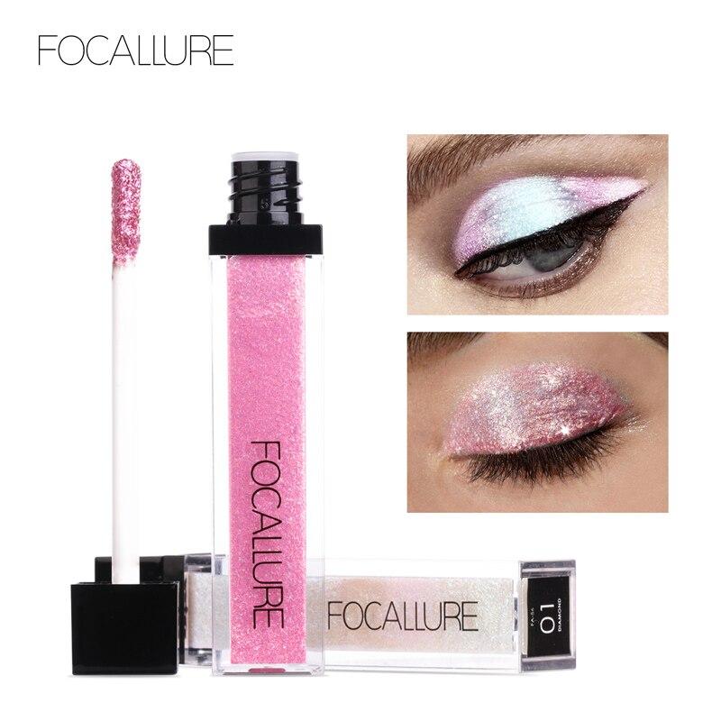 Eye Shadow Phoera Glitter Powder Shimmering Colors Eyeshadow Metallic Eye Cosmetic Waterproof Ucanbe Paleta Sombras Focallure Ucanbe A2 Beauty & Health