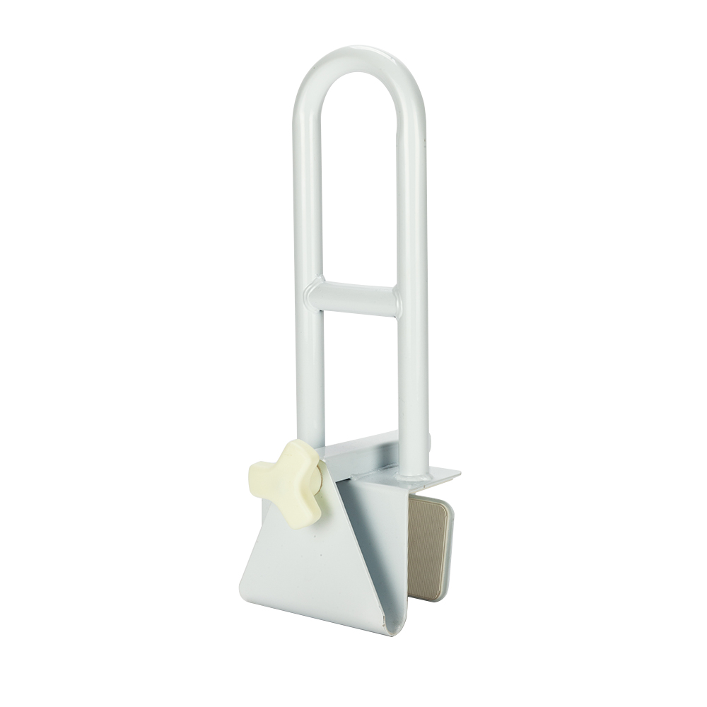Medical Bathroom Bathtub Grab Bar Safety Rail Tub Clamp-CST5011 Bathroom Shower Medical Assist Balance Hand Grip Rail - US Stock