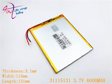 31115131 3 7V 30115130 battery dual core gemei G6T VI40 dual core A11 Quad Core tablet