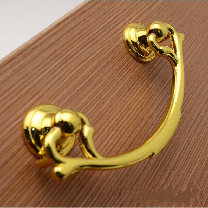 96mm modern fashion gold shaky furniture handles 64mm gold drawer cabinet pulls knobs bronze dresser cupboard door handles pull