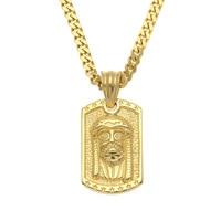 Hiphop Man Jewelry Jesus Male Necklaces Pendants Punk Bible Necklace For Men Women Neckless Gothic Collier