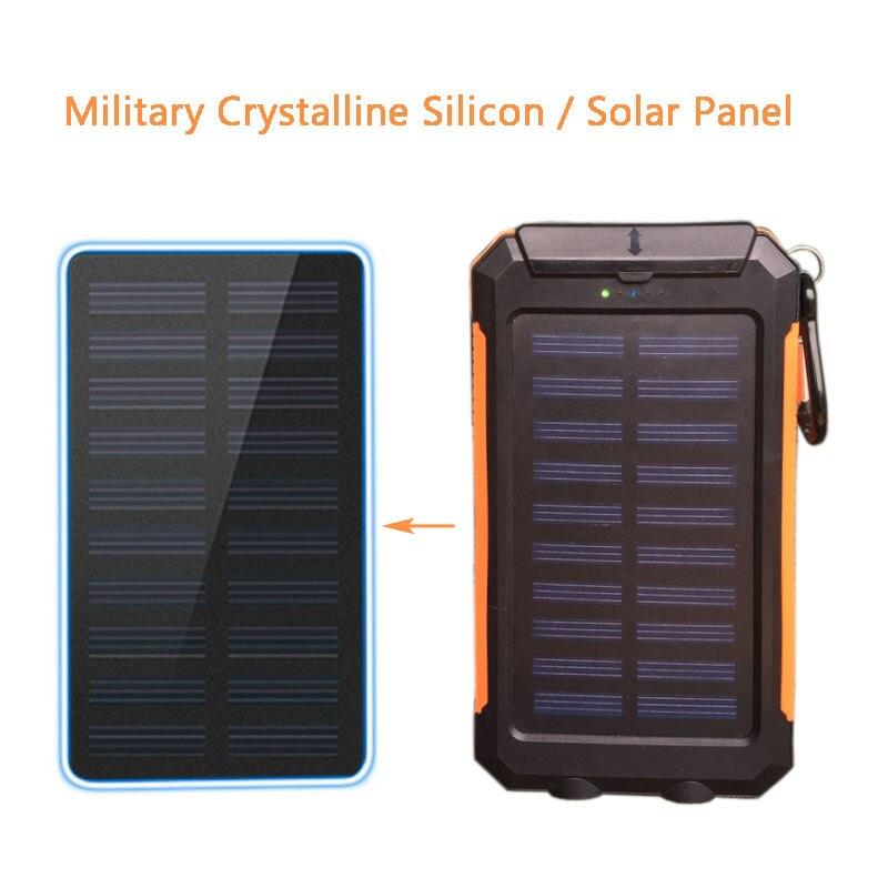 Banco do Poder quente solar power bank dual Certificação de Qualidade : Rohs, ce