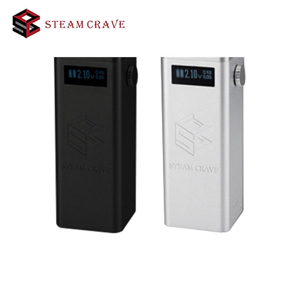 100% Original vapeur Crave Titan PWM VV boîte MOD Fit énorme réservoir de diamètre 30mm à 41mm pas 18650 batterie boîte MOD Vaping e-cigs