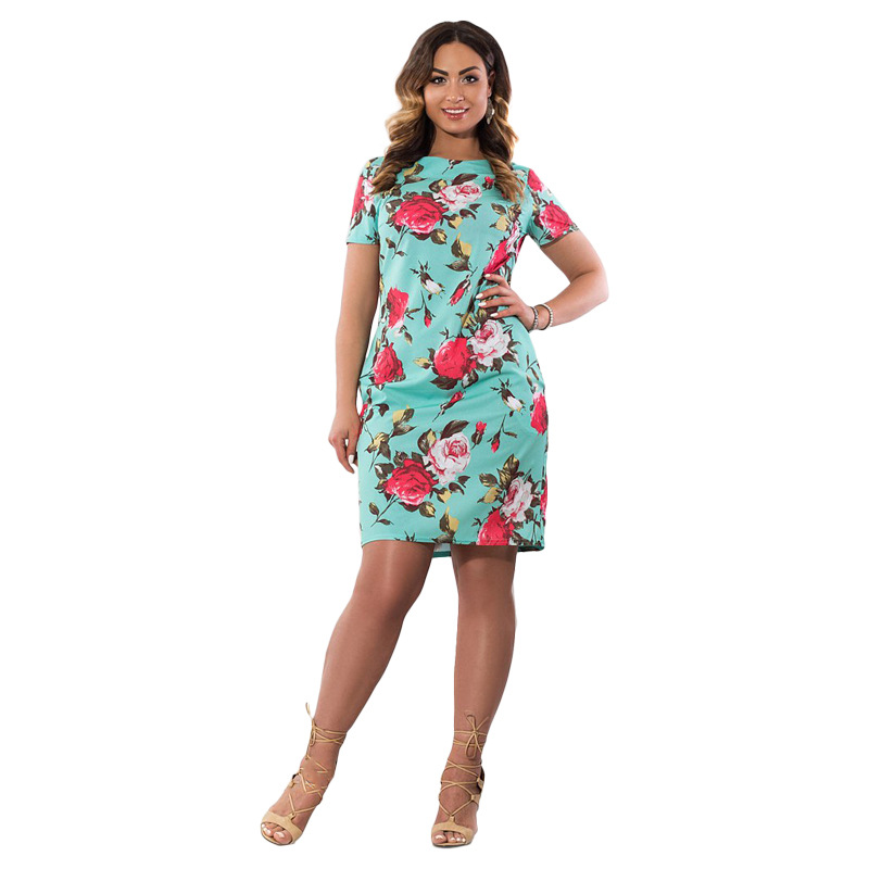 HTB1.FTWXhHBK1JjSZFuq6xRSpXaS 2019 Autumn Plus Size Dress Europe Female Fashion Printing Large Sizes Pencil Midi Dress Women's Big Size Clothing 6XL Vestidos