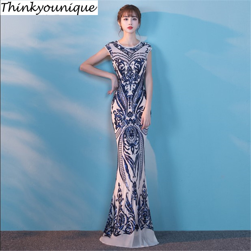 O vestidos de festa Mermaid Long Dresses Night